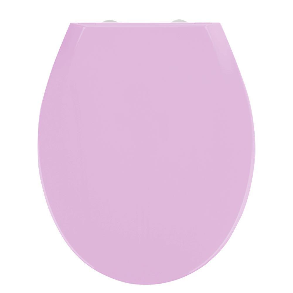 Wenko Kos Soft Close Toilet Seat - Lilac Large Image