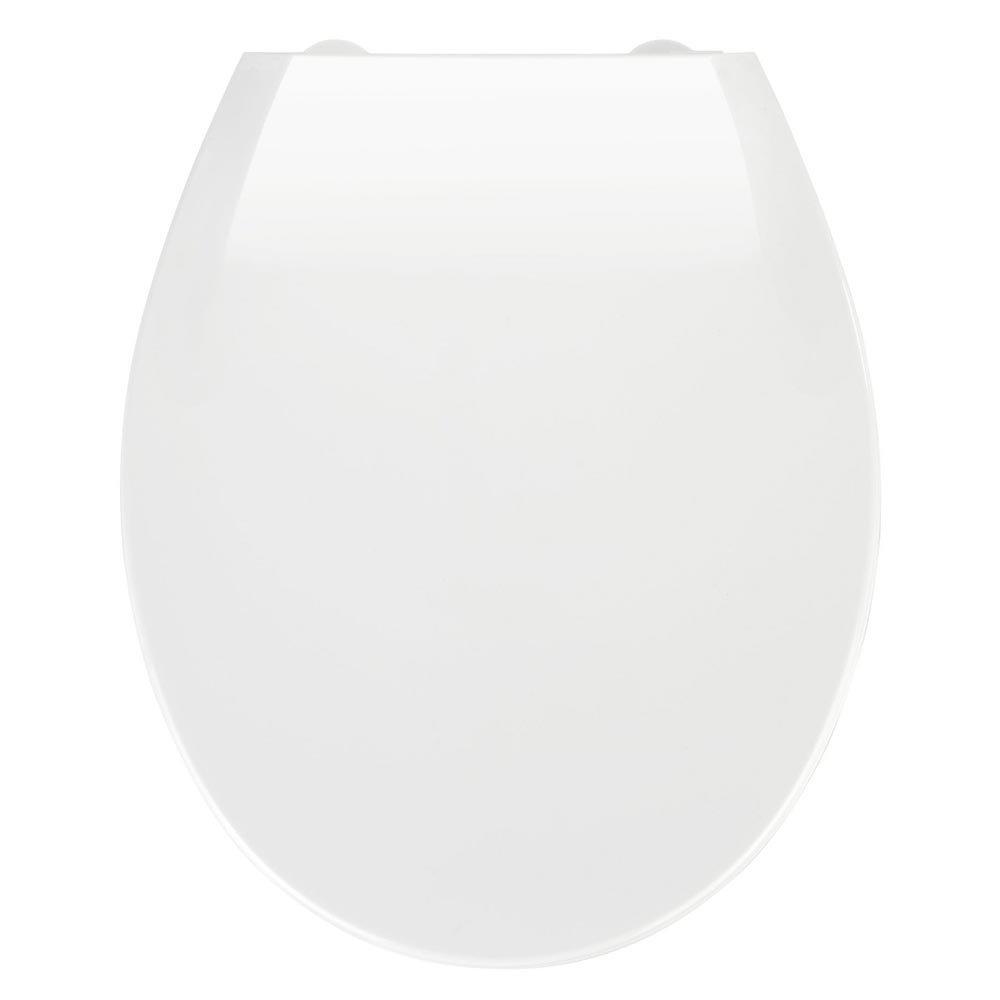 Wenko Kos Soft Close Toilet Seat - White Large Image