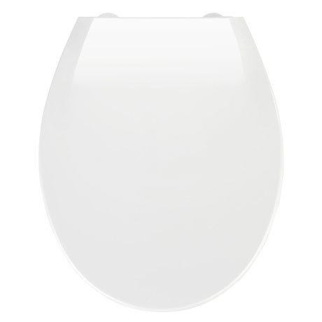 Wenko Kos Soft Close Toilet Seat - White
