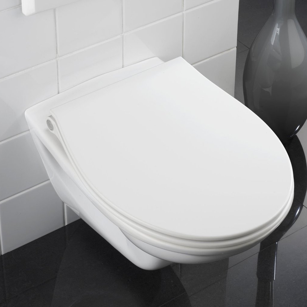 Wenko LED Night Light Soft-Close Toilet Seat - 21902100 Standard Large Image
