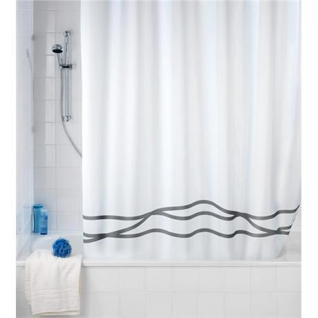 Wenko - Noa Anti-Mold Polyester Shower Curtain - W1800 x H2000mm - 20515100