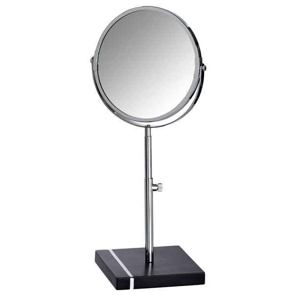 Wenko - Noble Extendable Cosmetic Mirror - Black - 20467100 profile large image view 2