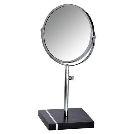 Wenko - Noble Extendable Cosmetic Mirror - Black - 20467100