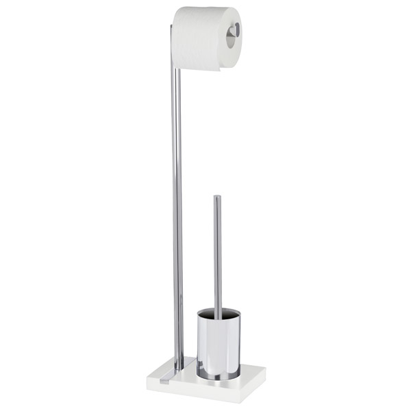 Wenko - Noble Standing WC Set - White - 20486100 profile large image view 1