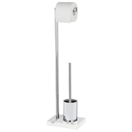 Wenko - Noble Standing WC Set - White - 20486100