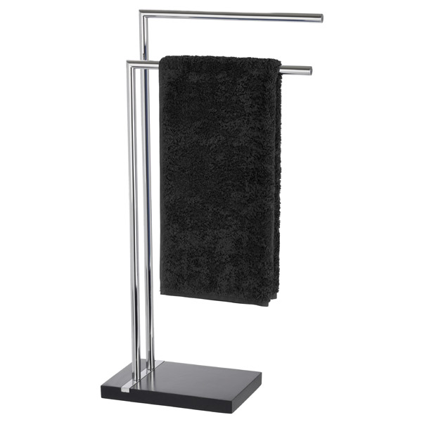 Wenko - Noble Towel Stand - Black - 20461100 Large Image