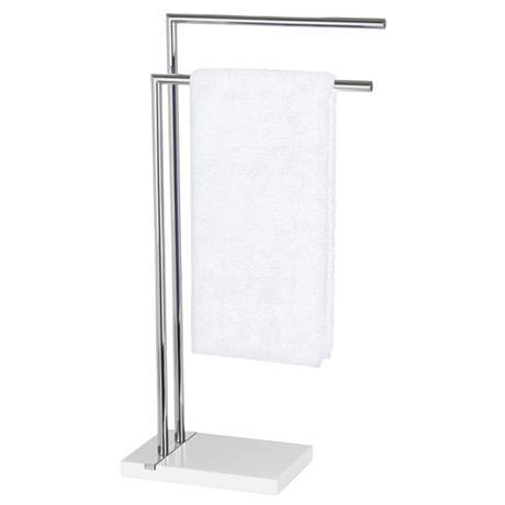 Wenko - Noble Towel Stand - White - 20487100