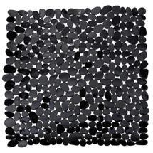 Wenko Paradise 54 x 54cm Shower Mat - Black - 20275100 Medium Image
