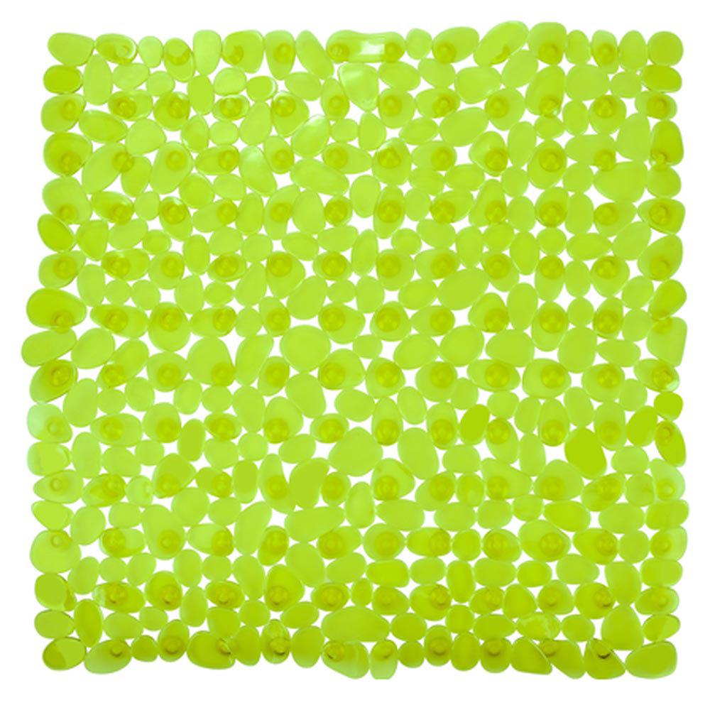 Wenko Paradise 54 x 54cm Shower Mat - Green - 20273100 Large Image