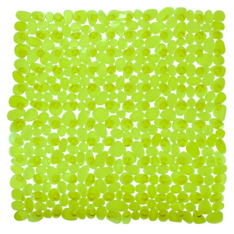 Wenko Paradise 54 x 54cm Shower Mat - Green - 20273100