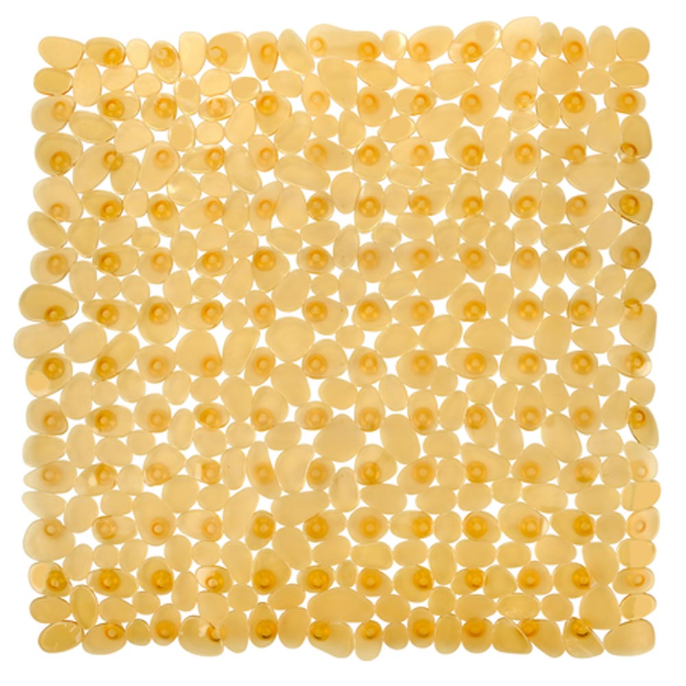 Wenko Paradise 54 x 54cm Shower Mat - Orange - 20267100 Large Image