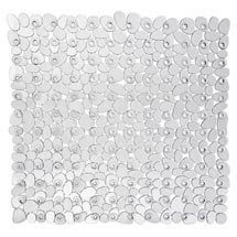 Wenko Paradise 54 x 54cm Shower Mat - Transparent - 20265100 Medium Image