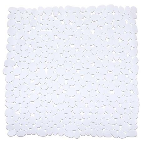 Wenko Paradise 54 x 54cm Shower Mat - White - 20277100