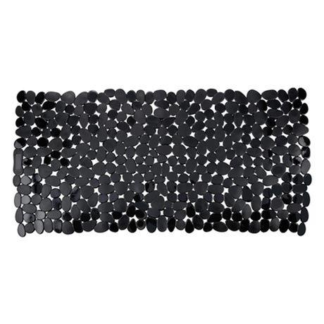 Wenko Paradise 71 x 36cm Bath Mat - Black - 20274100