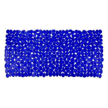 Wenko Paradise 71 x 36cm Bath Mat - Blue - 20270100