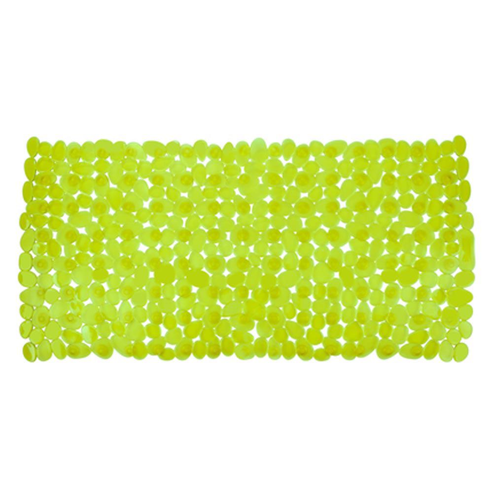 Wenko Paradise 71 x 36cm Bath Mat - Green - 20272100 Large Image