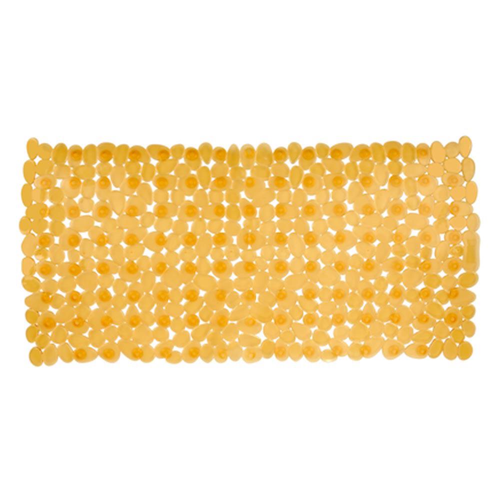 Wenko Paradise 71 x 36cm Bath Mat - Orange - 20266100 Large Image