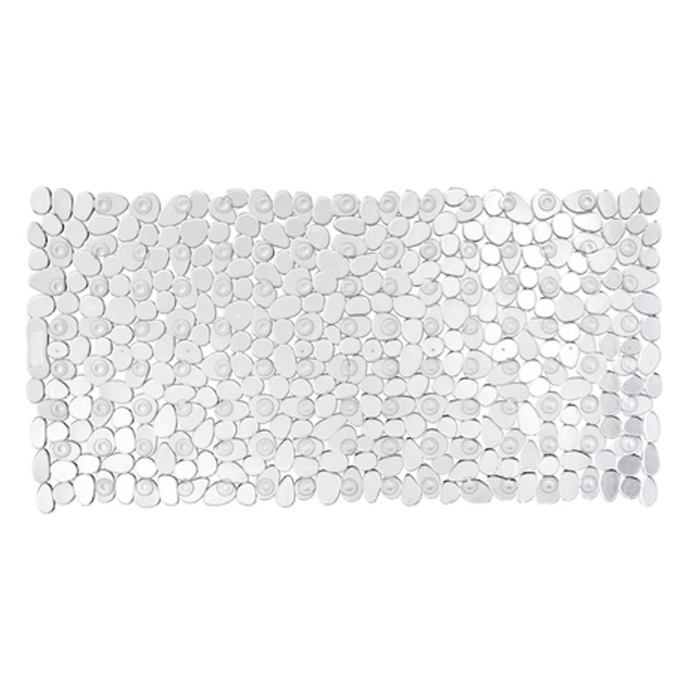 Wenko Paradise 71 x 36cm Bath Mat - Transparent - 20264100 profile large image view 1