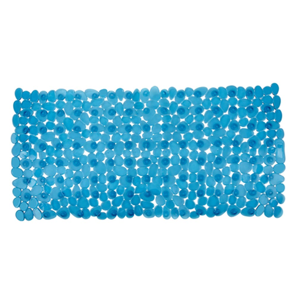 Wenko Paradise 71 x 36cm Bath Mat - Turquoise - 20262100 profile large image view 1