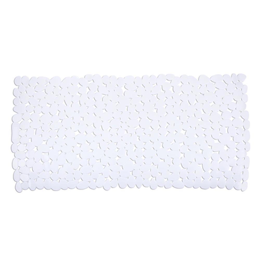 Wenko Paradise 71 x 36cm Bath Mat - White - 20276100 Large Image