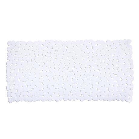 Wenko Paradise 71 x 36cm Bath Mat - White - 20276100