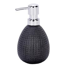 Wenko Polaris Jet Ceramic Anthracite Soap Dispenser - 21995100 Medium Image