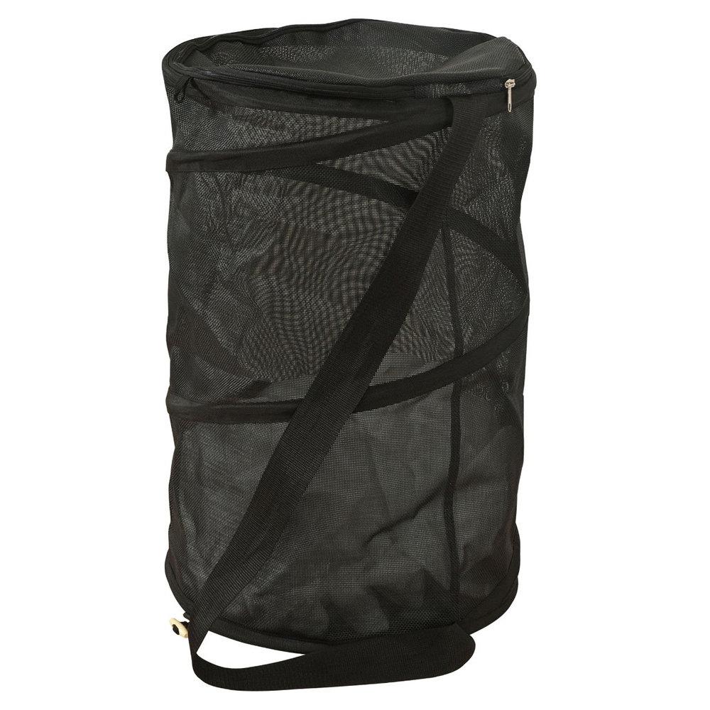 Wenko Pop-up Laundry Bin - Black - 2780002100 Large Image