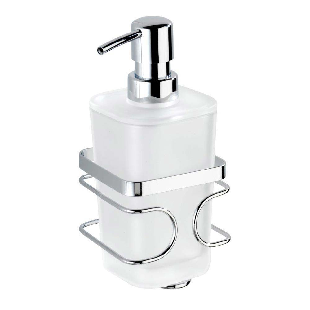 Wenko Premium Soap Dispenser - Stainless Steel - 20416100 Large Image