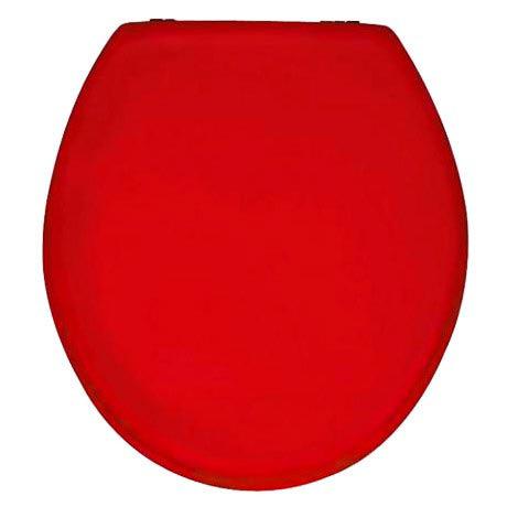 Wenko Prima MDF Toilet Seat - Bordeaux - 152201100 Large Image
