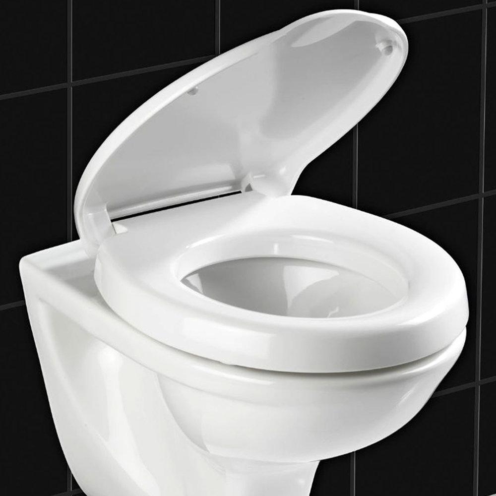 Wenko Secura Comfort Soft-Close Toilet Seat - 21905100 profile large image view 2
