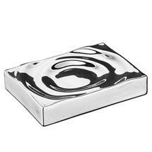 Wenko Signs Ceramic Soap Dish - Chrome Medium Image