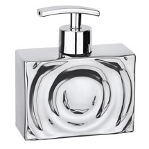 Wenko Signs Ceramic Soap Dispenser - Chrome Medium Image