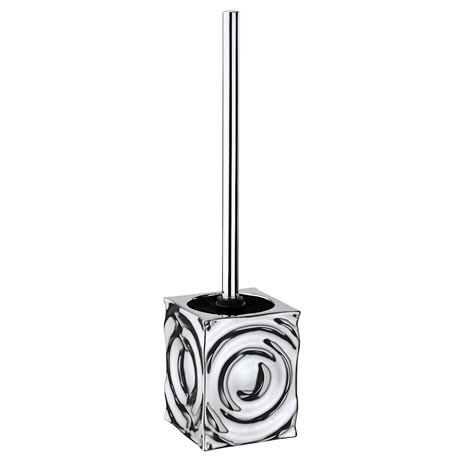 Wenko Signs Ceramic Toilet Brush Set - Chrome