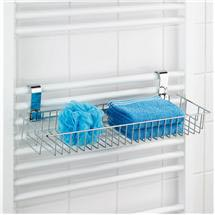 Wenko - Smart Universal Shelf for Heated Towel Rails - XL - 20647100 Medium Image