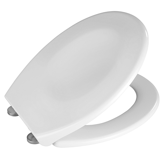Wenko Splash Guard Soft-Close Toilet Seat - 21828100 Profile Large Image