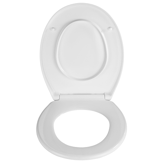 Wenko Splash Guard Soft-Close Toilet Seat - 21828100 Standard Large Image