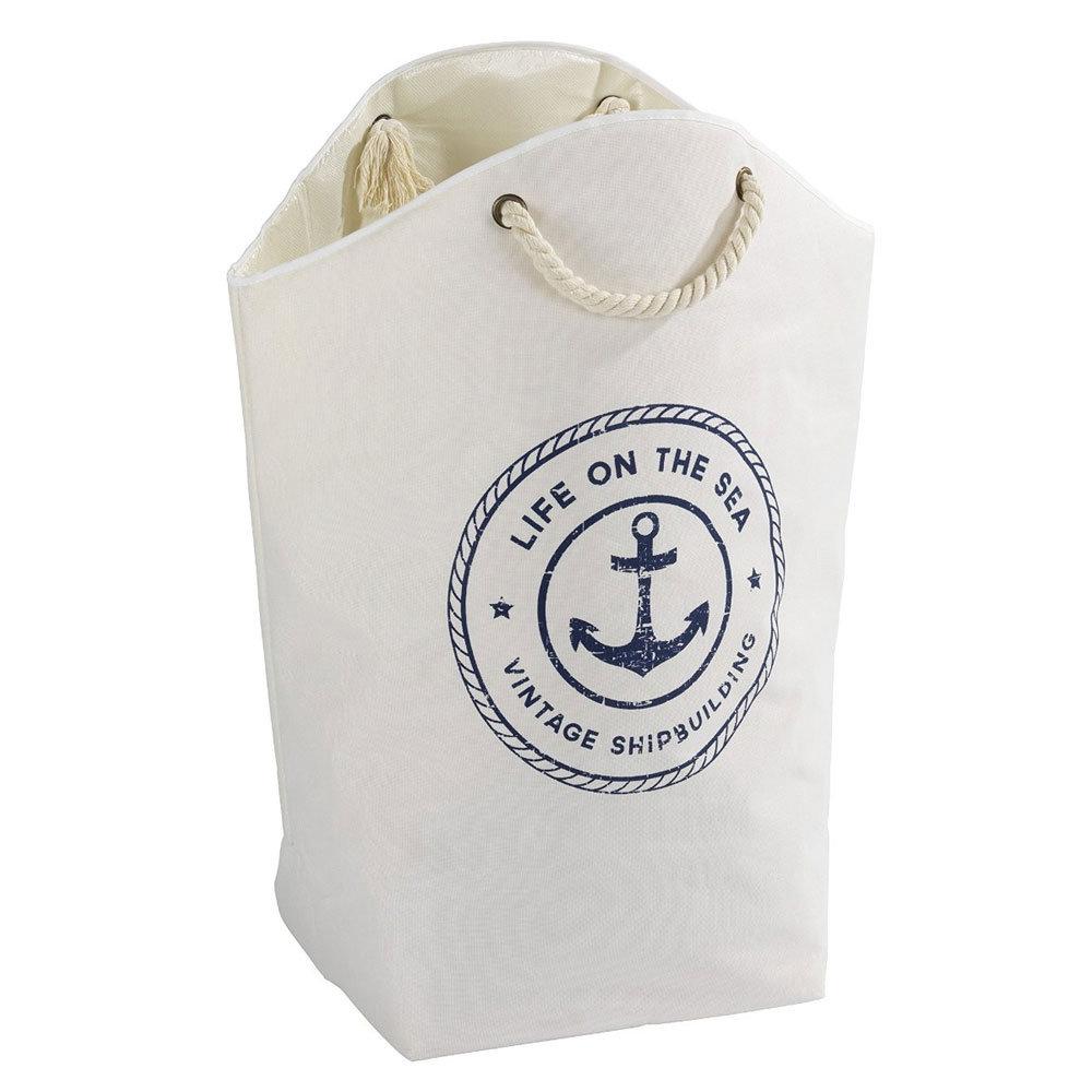 Wenko Sylt Maritime Design Laundry Bag Large Image