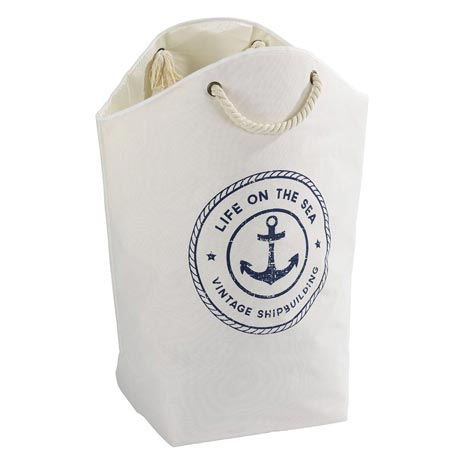 Wenko Sylt Maritime Design Laundry Bag