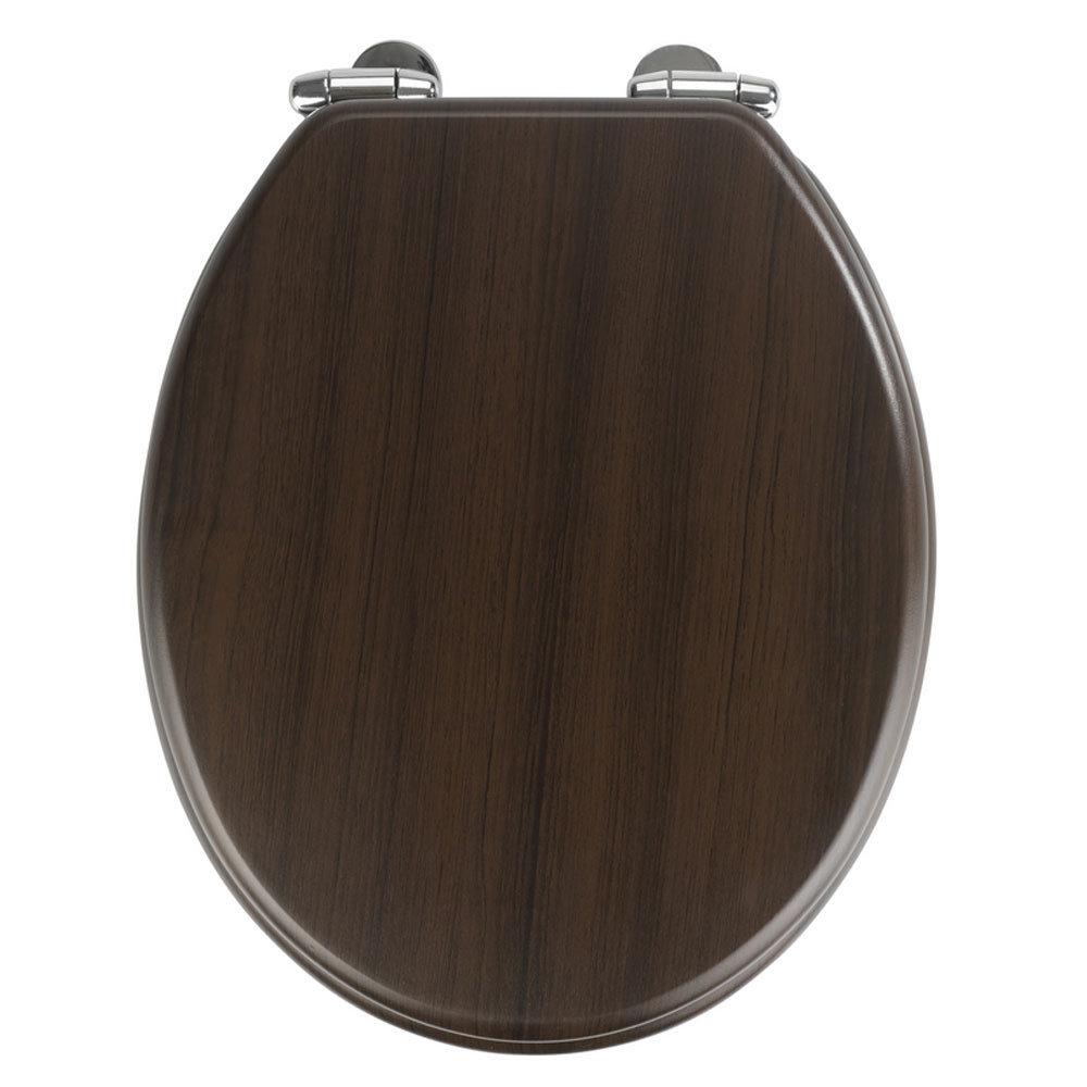 Wenko Wenge MDF Soft Close Toilet Seat Large Image