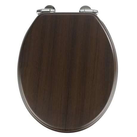 Wenko Wenge MDF Soft Close Toilet Seat