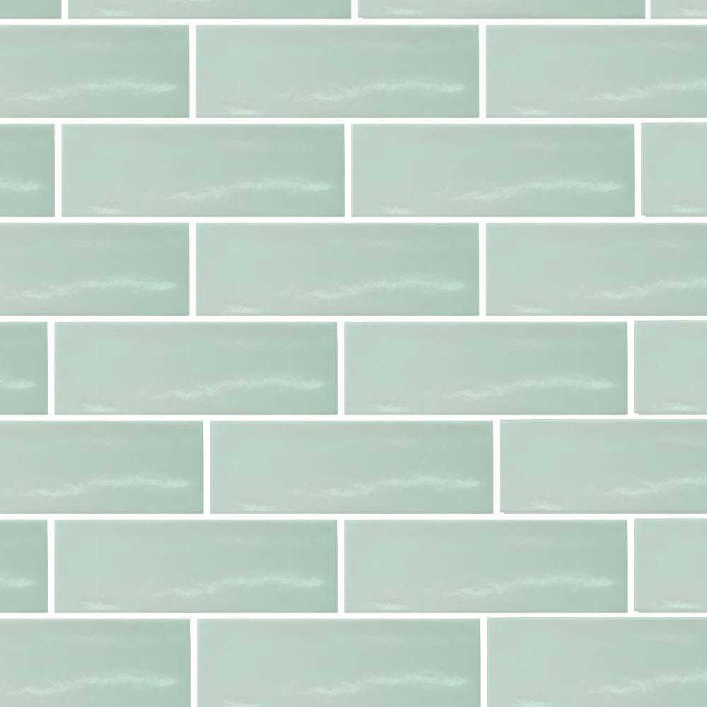 Westbury Rustic Metro Wall Tiles - Apple - 30 x 10cm Large Image