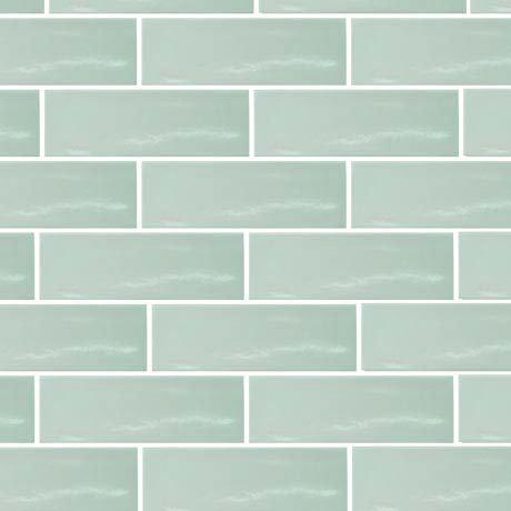 Westbury Rustic Metro Wall Tiles - Apple - 30 x 10cm