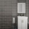 Westbury Rustic Metro Wall Tiles - Graphite - 30 x 10cm Small Image