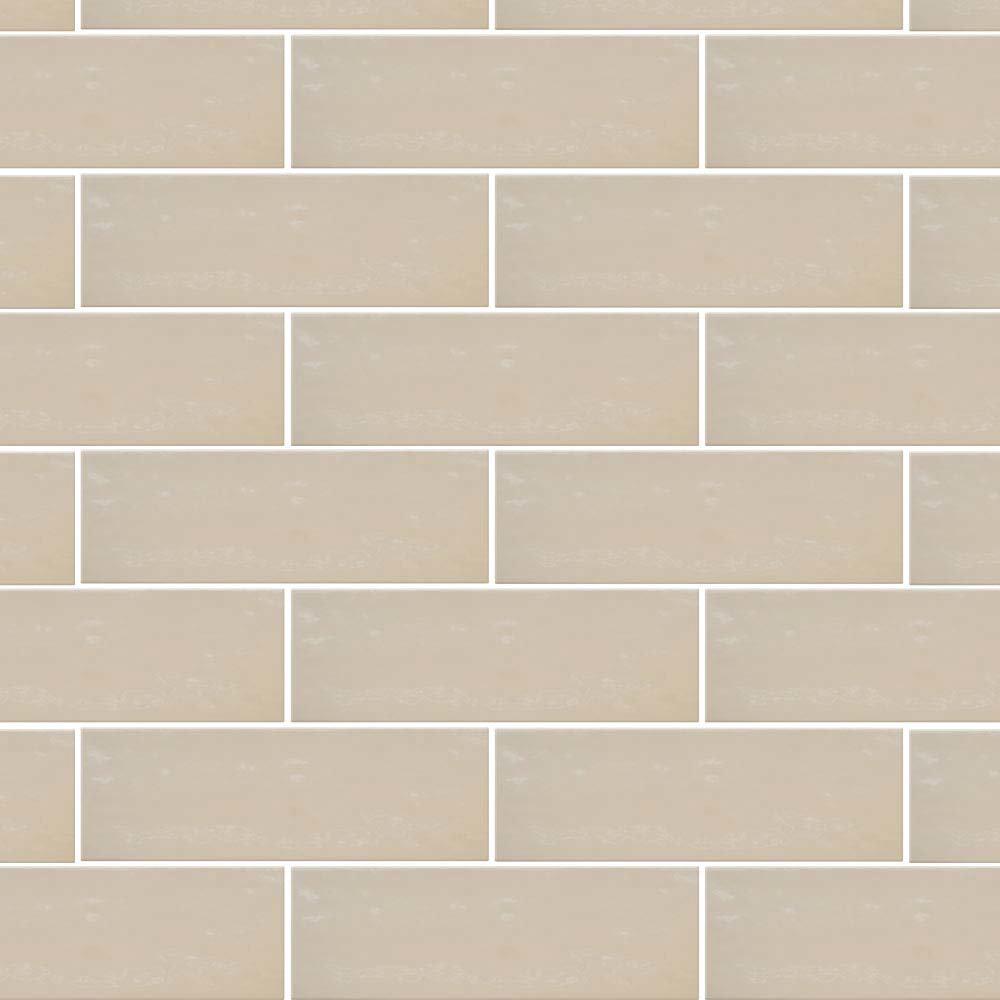 Westbury Rustic Metro Wall Tiles - Latte - 30 x 10cm Large Image