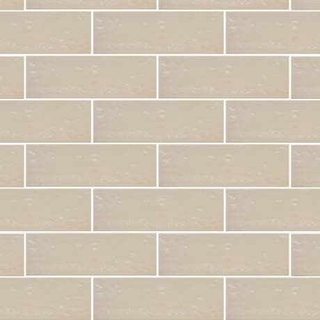 Westbury Rustic Metro Wall Tiles - Latte - 30 x 10cm