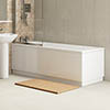 White MDF Bath Panel Pack - Various Sizes profile small image view 1