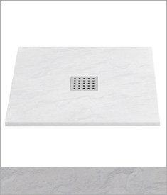 White Slate Trays