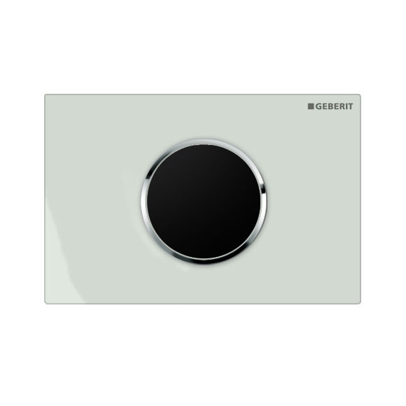 Geberit - Touchless Automatic Flush for UP320 Cistern - Sigma10 - White and Gloss Chrome Large Image