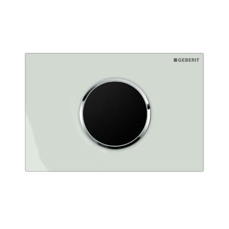 Geberit - Touchless Automatic Flush for UP320 Cistern - Sigma10 - White and Gloss Chrome