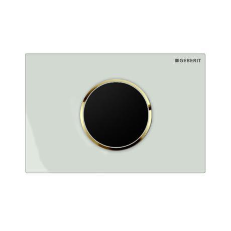Geberit - Touchless Automatic Flush for UP320 Cistern - Sigma10 - White and Gold